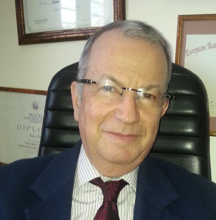 מנהל בית החולים - פרופסור עמוס גילהר