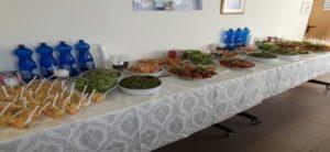 """תמונה של שולחן בריא כפי שהוגש ביום העיון בנושא התעללות בזקנים שהתקיים בביה""""ח"""